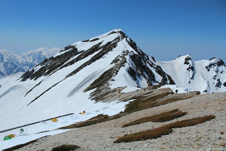 雪景色が美しいゴールデンウイークの唐松岳日帰り登山 コースタイム実績:4時間30分