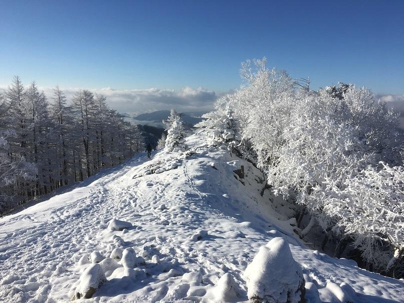 雪を楽しむ春の雲取山登山(1泊2日)八丁橋~富田新道~雲取山~天祖山